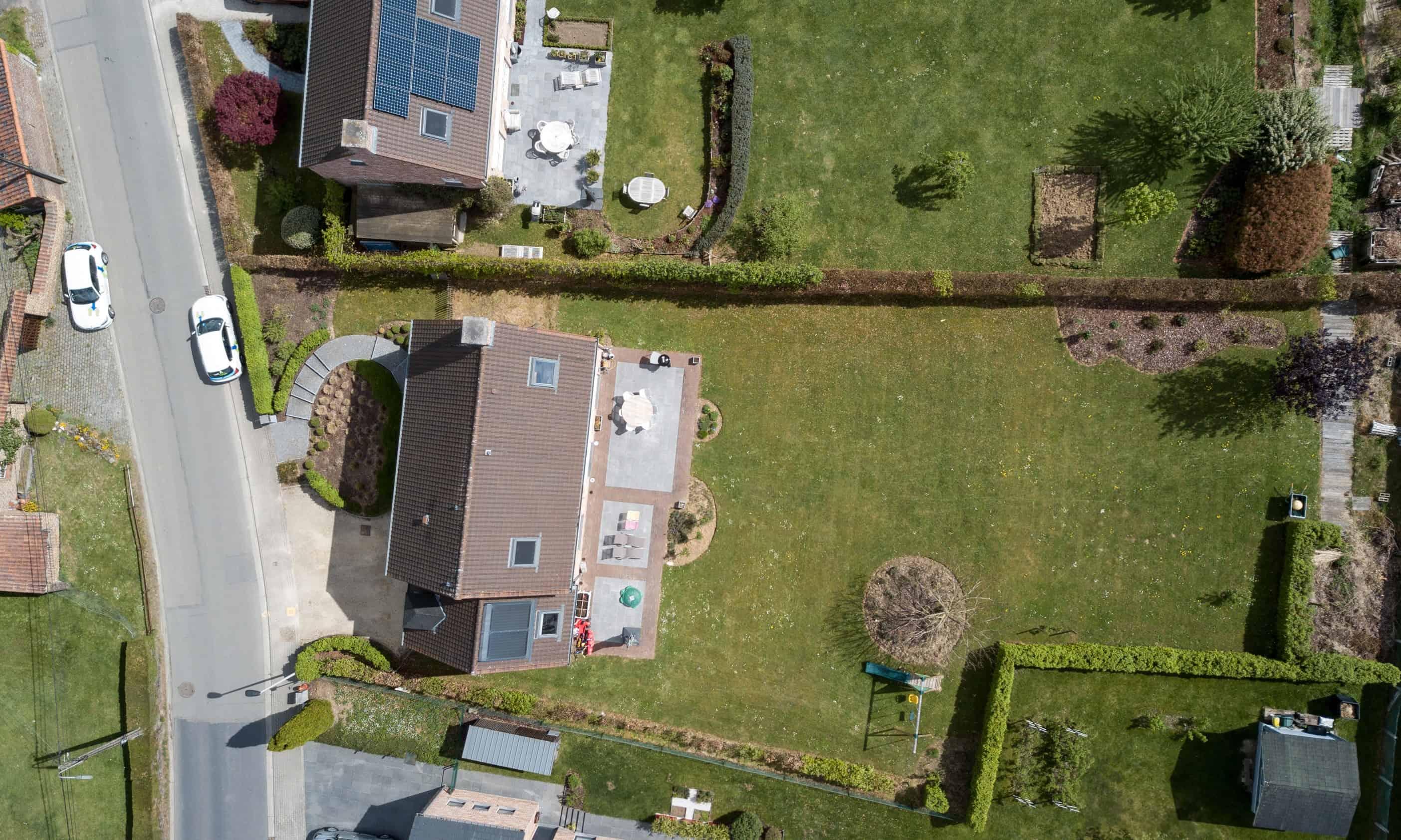Photo aérienne réalisée par Certinergie