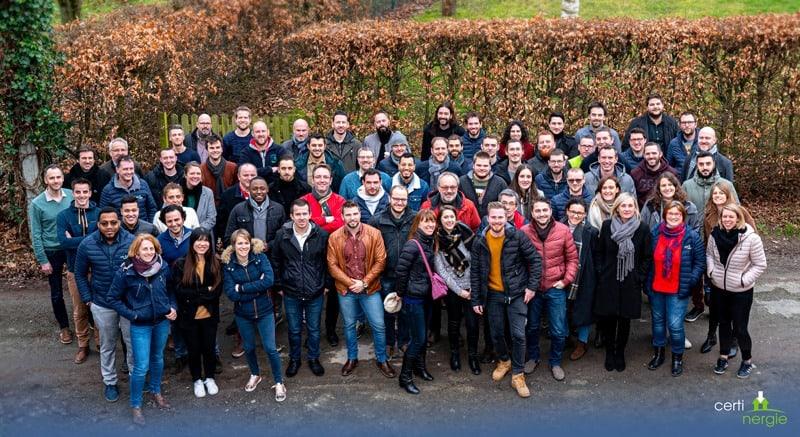 Certinergie Team 2020 - certificat peb bruxelles