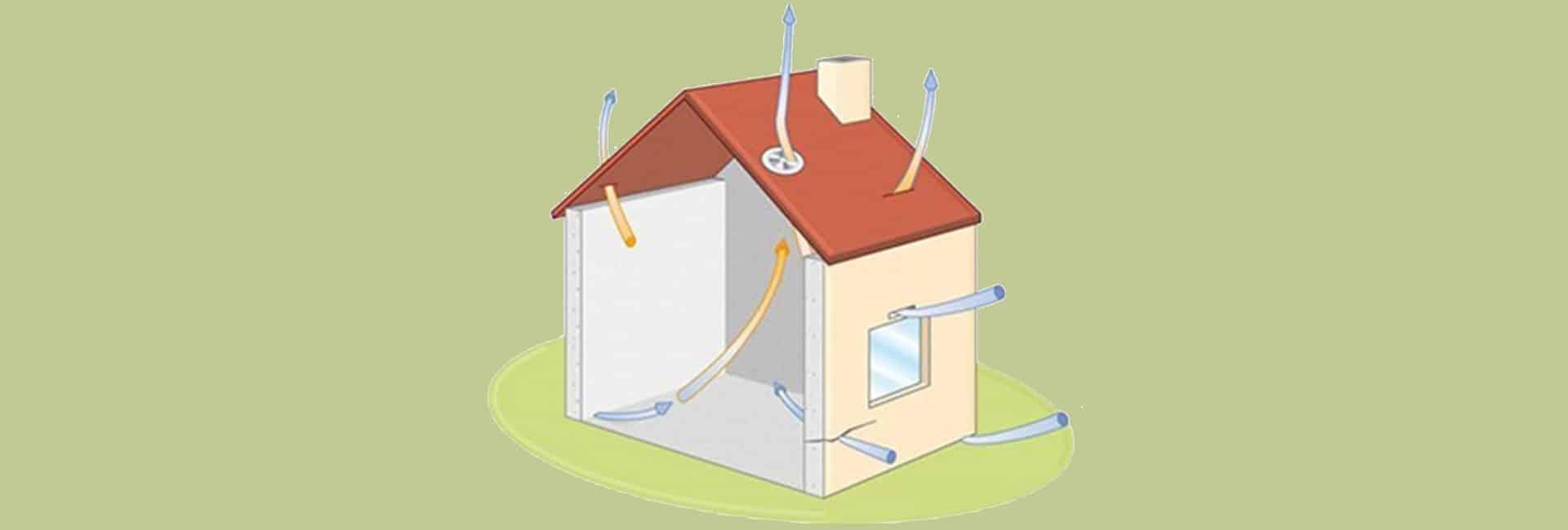 Luchtdichtheid van uw gebouw